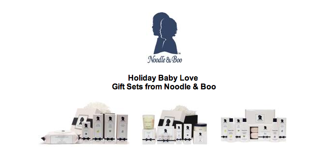 Holiday Baby LoveGift Sets from Noodle & Boo